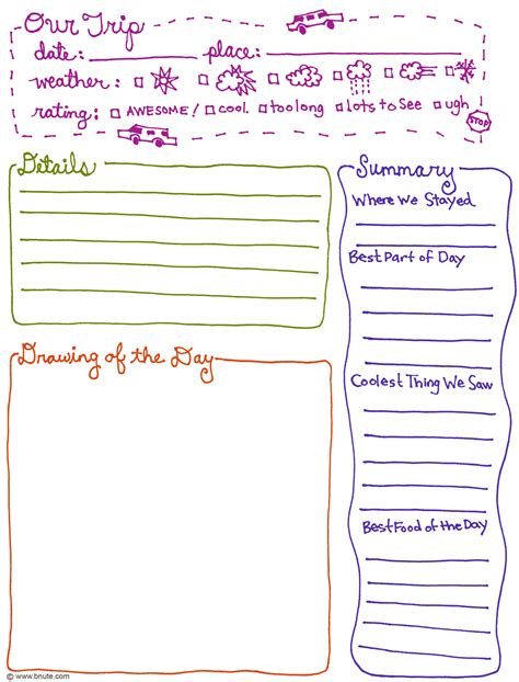 is journaling a word 6 best images of printable diary page template diary