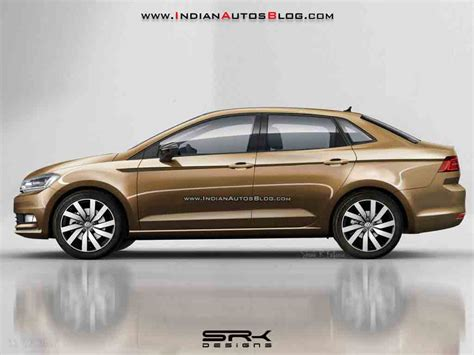 volkswagen vento 2018 volkswagen vento imagined with sharper stance