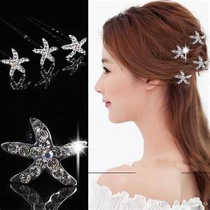Summer Beach 2015 Starfish Bridal Hair Accessories