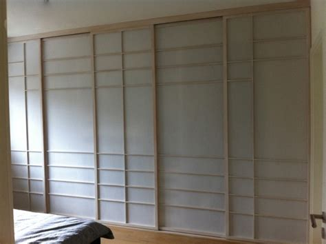 kleiderschrankfront aus shoji schiebet 252 ren shoji cabinet