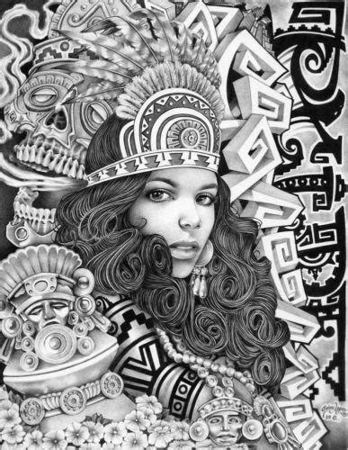 Aztec Tattoo Art | eBay