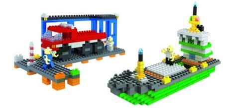 loz micro blocks harbour small building block set nanoblock compatible 400 pcs
