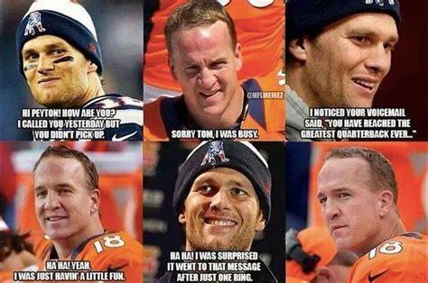 Tom Brady Peyton Manning Meme - peyton manning vs tom brady meme generator tom brady vs peyton manning credit daniel thomas