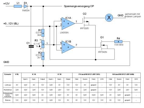 widerstaende op als komparator mikrocontrollernet
