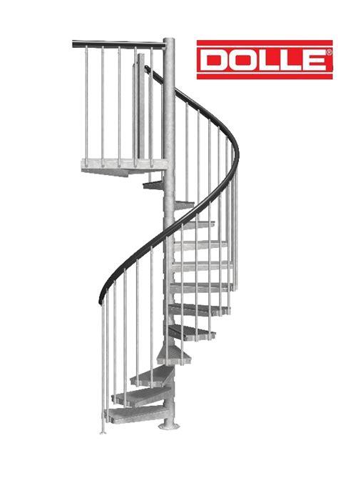 escalier h 233 lico 239 dal ext 233 rieur dolle en acier galvanis 233 216 125 cm