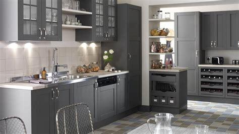 cuisine rustique grise esprit rustique pour une cuisine de charme