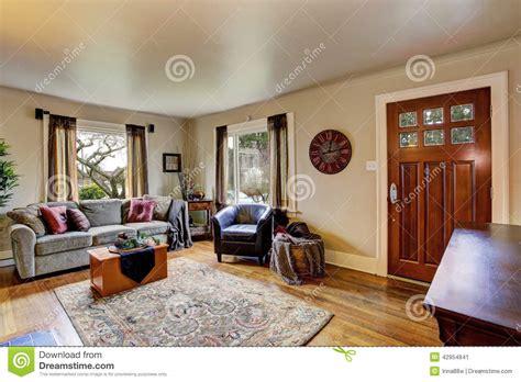 Interno Americane interno salone in casa americana immagine stock