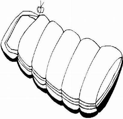 Sleeping Bag Clipart Coloring Pages Letters Clipartmag