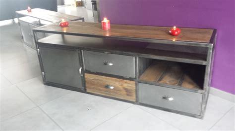 Mobilier Industriel Vintage Pas Cher,meuble Tv Industriel