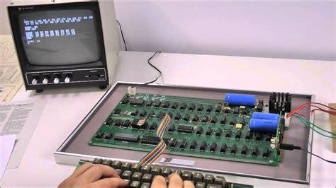 Original »apple 1 Computer«, 1976; 24 November 2012