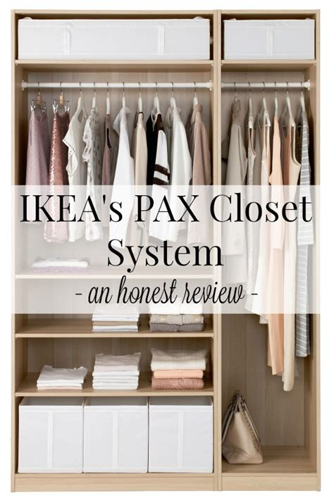 ikea closet systems ikea s pax closet systems an honest review driven by decor