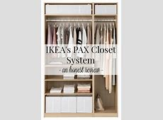 IKEA's PAX Closet Systems An Honest Review Driven by Decor