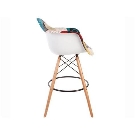 chaises de bar pas cher chaise de bar dab patchwork achat vente tabouret de
