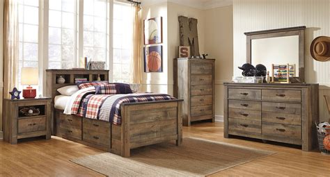 Youth Furniture Bedroom Sets by Trinell Youth Bookcase Bedroom Set By Signature Design By