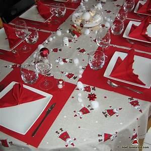 Table De Fete Decoration Noel : d coration de la table de no l et du r veillon du nouvel an ~ Zukunftsfamilie.com Idées de Décoration