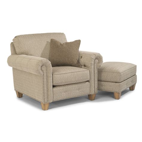 Cheap Fabric Ottomans by Flexsteel 7332 10 08 Sebastian Fabric Chair And Ottoman