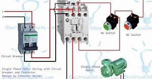 How To Wire A Contactor With Light Circuits