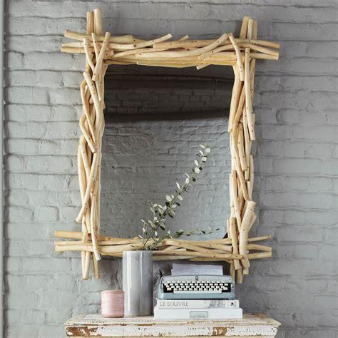 le bois flotte maison du monde miroir en bois flott 233 h 113 cm rivage maisons du monde