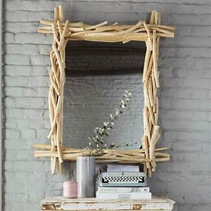 Miroir Bois Flotté : miroir en bois flott h 113 cm rivage maisons du monde ~ Teatrodelosmanantiales.com Idées de Décoration