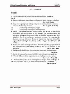 Cse Vii Object Oriented Modeling And Design 10cs71