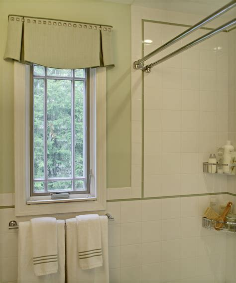bathroom valance ideas gorgeous box valance in traditional dc metro with box