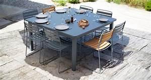 Table Carre Exterieur : table craft table de jardin table jardin 8 places ~ Teatrodelosmanantiales.com Idées de Décoration