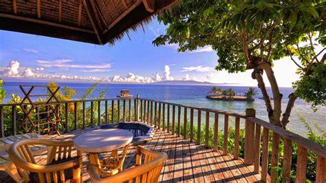wallpaper  ocean beach balcony view