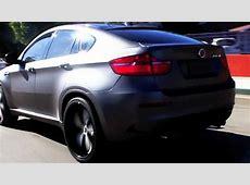 BMW X6M Wrapped it Mettalic Matte Grey by DBX Sex6M