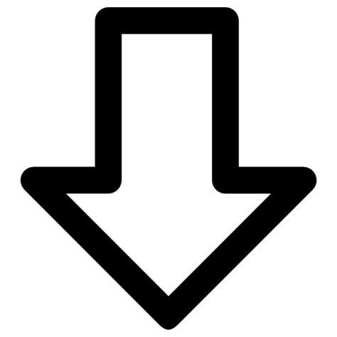 Nach Unten by Pfeil Nach Unten Der Kostenlosen Icons
