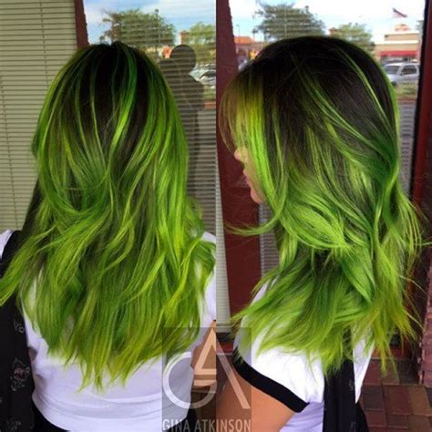 Hair Colors For With Green by Diy Hair 10 Green Hair Color Ideas Bellatory