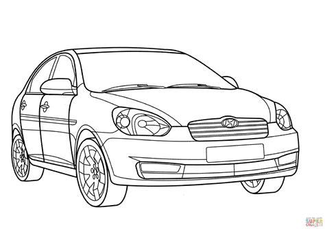 Auto Kleurplaat Getund by Disegno Di Hyundai Verna Da Colorare Disegni Da Colorare
