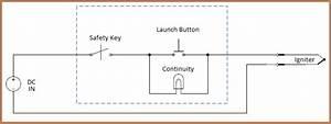 Model Rocket Launch Controller Circuit