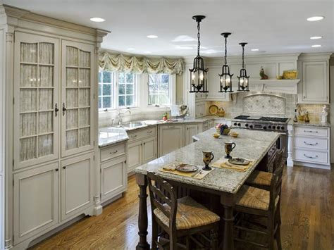 french country kitchens hgtv