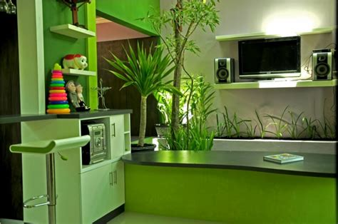 color verde  la decoracion de interiores  disenos