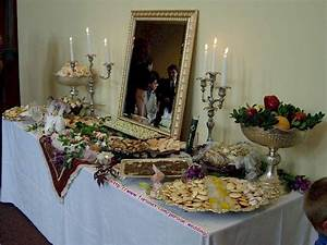 persian christian sofreh aghd iranian wedding table setup With persian wedding ceremony table
