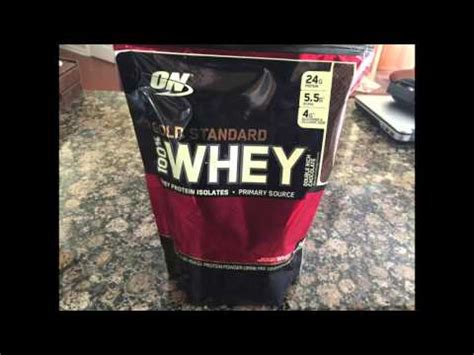 Optimum Nutrition Whey Protein Double Rich Chocolate ...
