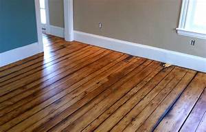 Painted Hardwood Floors for Colorful Nature Element