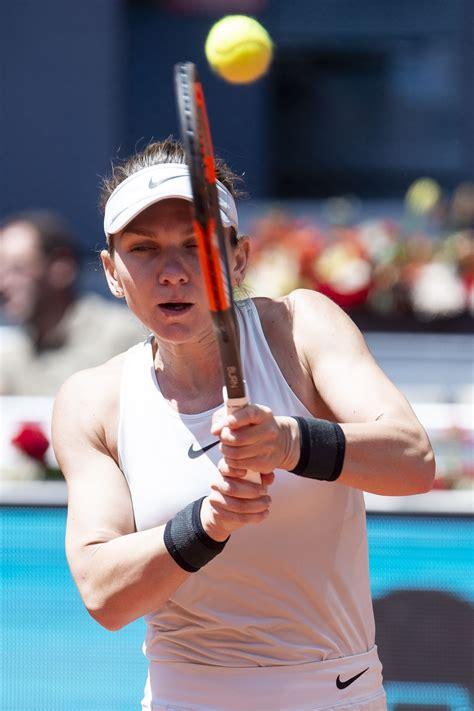 Simona Halep Hot Mutua Madrid Open 2018