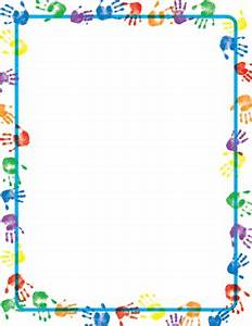 Baby Handprints Border Paper - 80 sheets - $6.95 from ...
