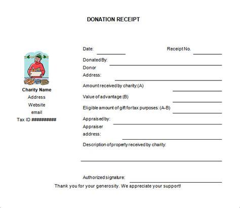 charitable donation receipt template 10 donation receipt templates doc pdf free premium templates