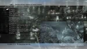 Menu Final Fantasy Xiii The Final Fantasy Wiki 10