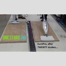 Steam Mop For Laminate Floors  Bissell V Europro Youtube