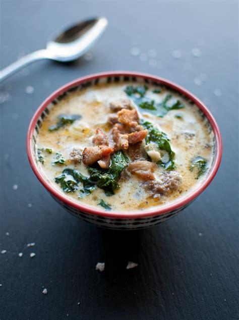 olive garden kale soup sausage bacon potato and kale soup salt lavender