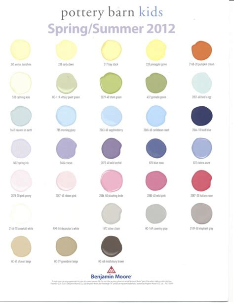 25 best ideas about pottery barn colors on
