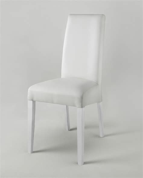 chaise salle a manger blanche chaise pisa laquee bicolore blanc gris blanc pied blanc
