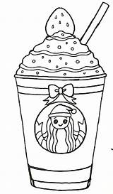 Starbucks Drink Coloring Kawaii Drawings Drawing Drinks Draw Pintar Cool Arte Garabateado Dibujos Dibujo Desenho Base Adorable Quotes sketch template