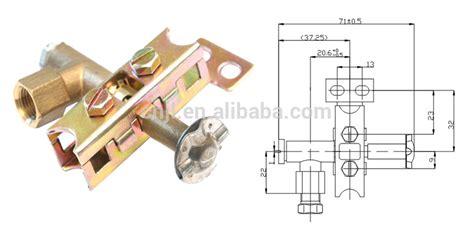 furnace gas burner and parts adjust pilot burner