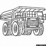 Coloring Excavator Digger Pages Getdrawings sketch template