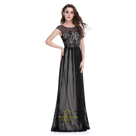 lace cap sleeve bridesmaid dresses floor length black floor length cap sleeves prom dress with lace
