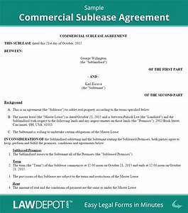 commercial sublease agreement template us lawdepot With commercial sublease agreement template download